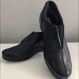 DREW Black Comfort Shoes (Size 11.5W)